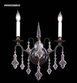 95602AB22 IMPERIAL Crystal Wall Sconce