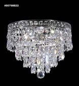 95798S22 IMPERIAL Crystal FlushMount