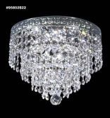 95802S22 IMPERIAL Crystal FlushMount
