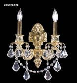 95822BZ2KA IMPERIAL Rock Crystal Accents Wall Sconce