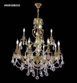 95832BZ2GT IMPERIAL Golden Teak Chandelier