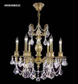 95836BZ2KA IMPERIAL Rock Crystal Accents Chandelier