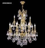 95839BZ2KA IMPERIAL Rock Crystal Accents Chandelier