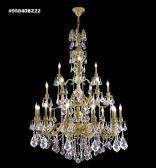 95840BZ2KA IMPERIAL Rock Crystal Accents Chandelier