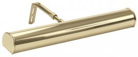 "Advent 14"" Polished Brass Picture Light"
