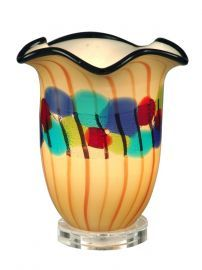 Aa12118 Celebration Favrile Accent Lamp