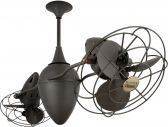 Ar Ruthiane-Bronze-Metal Ceiling Fan