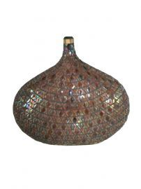 Av10662 Peacock Mosaic Decorative Vase