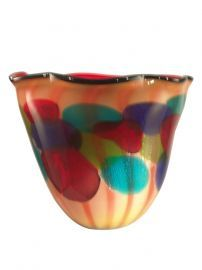 Av11105 Celebration Art Glass Vase
