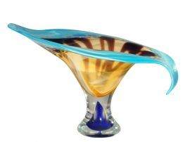 Av12327 Kelso Art Glass Bowl