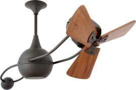 Brisa 2000-Bronze-Wood Ceiling Fan