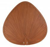 "Bpp1br 22"" Blade, Wide Oval Composite Palm, Brown - 5 Fan Blades"
