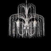 Br01 5 Light Clear Crystal Chandelier