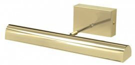 "Battery Operated Classic LED 14"" Polished Brass Picture Light"