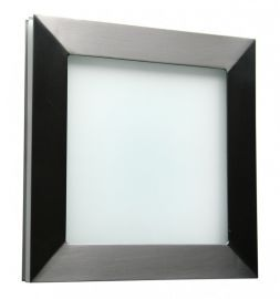 Basic Pared Sconce Standard Brushed Stainless Wall Sconce