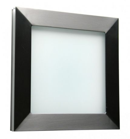Basic Techo Flush Mount Standard Brushed Stainless Wall Sconce