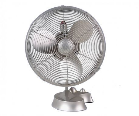 Cinni-Brushed Nickel Portable Fan