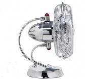 Cinni-Poished Chrome Portable Fan