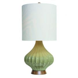 "31.5""H Greige Fairfax  Table Lamp"