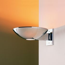 Caspio Indirect Halogen Sconce Polished Chrome Wall Sconce