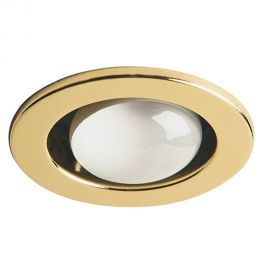 DL400-PB Polished Brass Trim Only Open Type  Use w/ DL4000 Housing