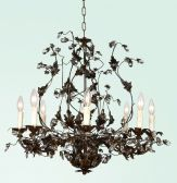 Fal58-a2 8 Light Crystal Fixture