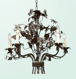 Fal59-a2 5 Light Crystal Lighting Fixture