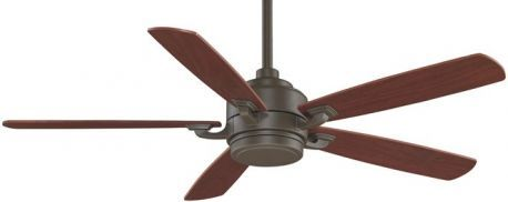 Benito Oil Rubbed Bronze Ceiling Fan, Opal Frosted Glass, Mahogany/walnut Blades, 220v