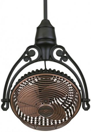 Old Havana Antique Copper/black Ceiling Fan