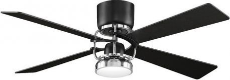 Camview Black Ceiling Fan With Black Finish Blades