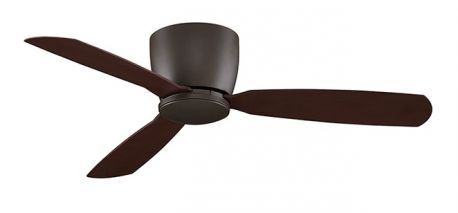 "Embrace 44"" Oil-rubbed Bronze Ceiling Fan, Opal Frosted Glass And Oil-rubbed Bronze Blades"