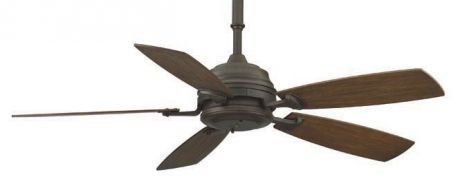 "Hf Standard Bronze Ceiling Fan With 20"" Coffee All-weather Composite Blade?"