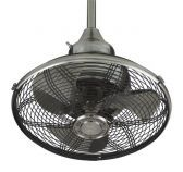 Of110pw Extraordinaire, Pewter Portable Fan