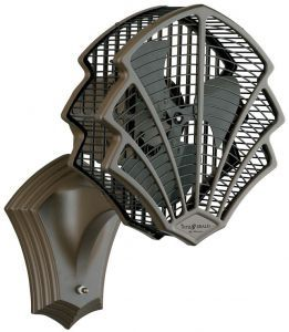 Fitzgerald Portable Fan, Oil-rubbed Bronze Finish