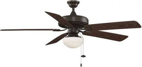 Edgewood Deluxe Wet Location Oil-rubbed Bronze Ceiling Fan With Light Kit
