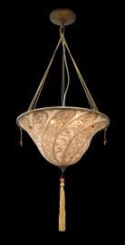 Ga26 2 Light Beige Fabric Fixture
