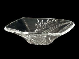 Ga80035 Clear Leaf Bowl