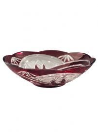 Ga80053 Red Artisan Bowl