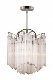 HP-3 PC 3-Light Chandelier, Polished Chrome Finish