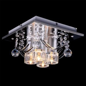 Modern 4-Light Ceiling Fixture