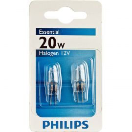 Essential Capsule 20W G4 12V CL 2BC Halogen 2-pack Light Bulbs