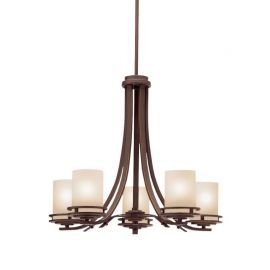 8-Light Value Oil Rubbed Bronze Chandelier, 25W x 48H
