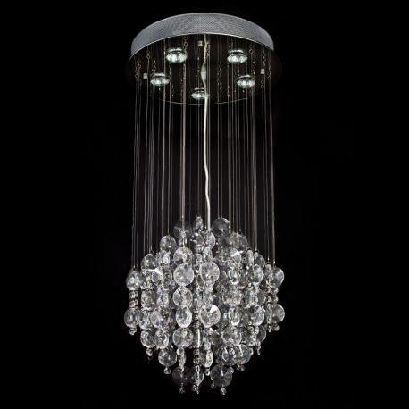 Contemporary Crystal 5-Light Chandelier
