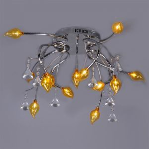 Modern 13-Light Ceiling Fixture