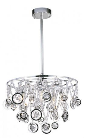 MDN-1090 5-Light Pendant, Polished Chrome Finish