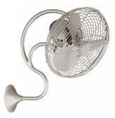 Melody-Brushed Nickel Wall Fan