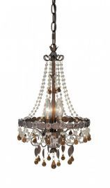 "10-1/2"" Mini Chandelier Royal Bronze"