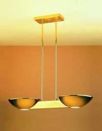 Pascal Halogen Ceiling Mount Polished Brass Ceiling Fixture
