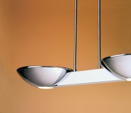 Pascal Halogen Ceiling Mount Polished Chrome Ceiling Fixture