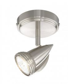 1L Spot Light Satin Nickel